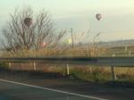 滋賀県高島市、気球